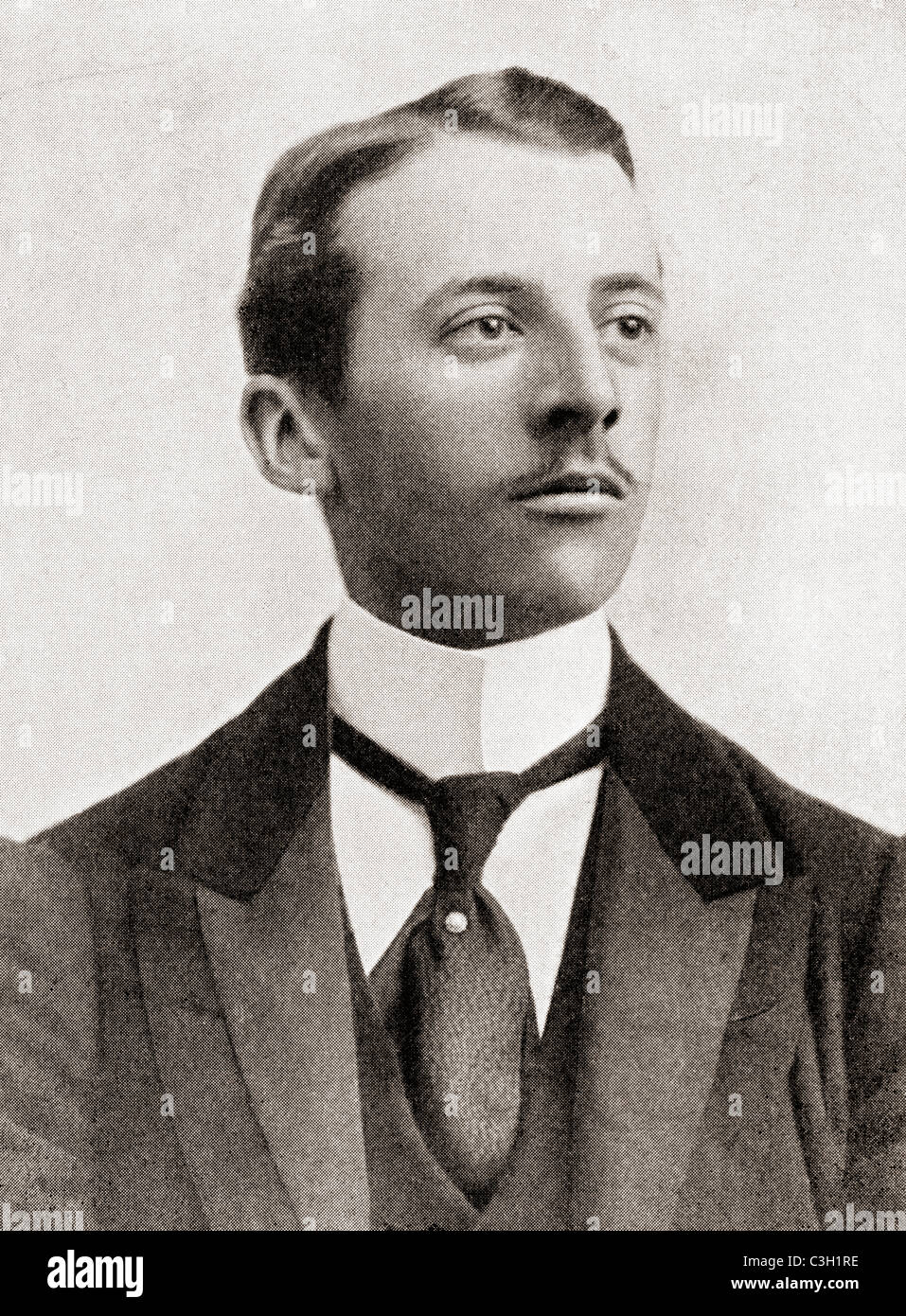 William 'Billy' Charles de Meuron Wentworth-FitzWilliam, 7th Earl FitzWilliam, 1872 - 1943. British aristocrat. - Stock Image