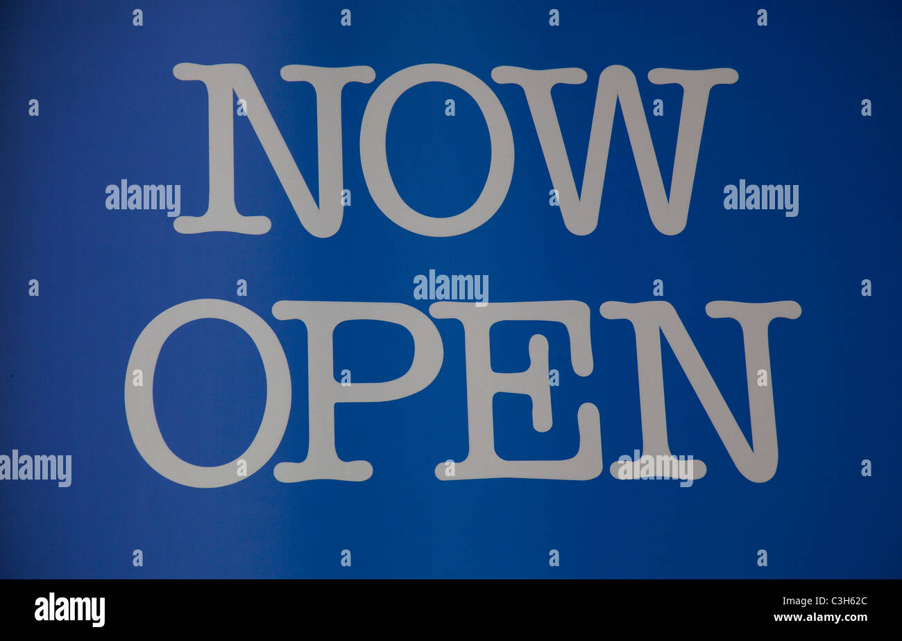 now open sign