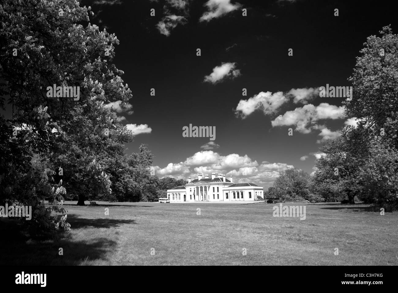 Hylands House, Chelmsford, Essex, UK - Stock Image