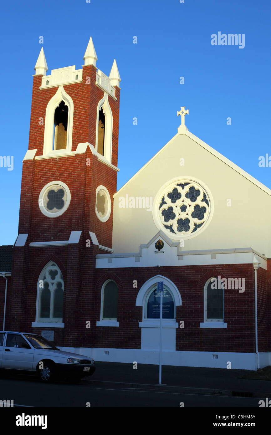 Windsor Presbyterian Community Church, Invercargill, Southland, New Zealand - Stock Image
