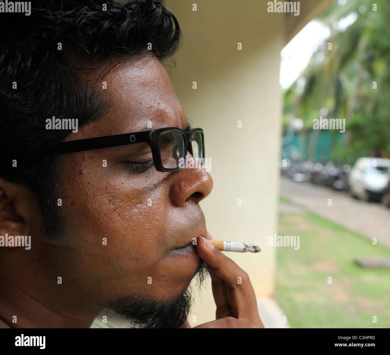 hose asian Smoking