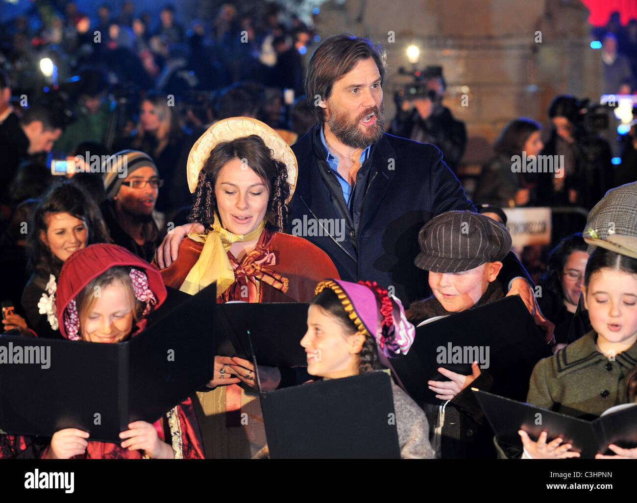 Jim Carrey \'A Christmas Carol\' - World premiere - arrivals held on ...