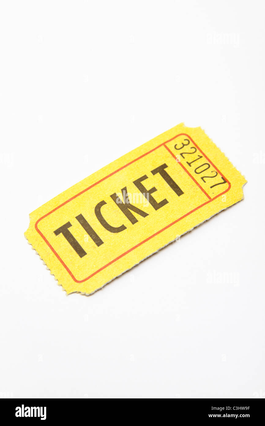 picture of a raffle ticket
