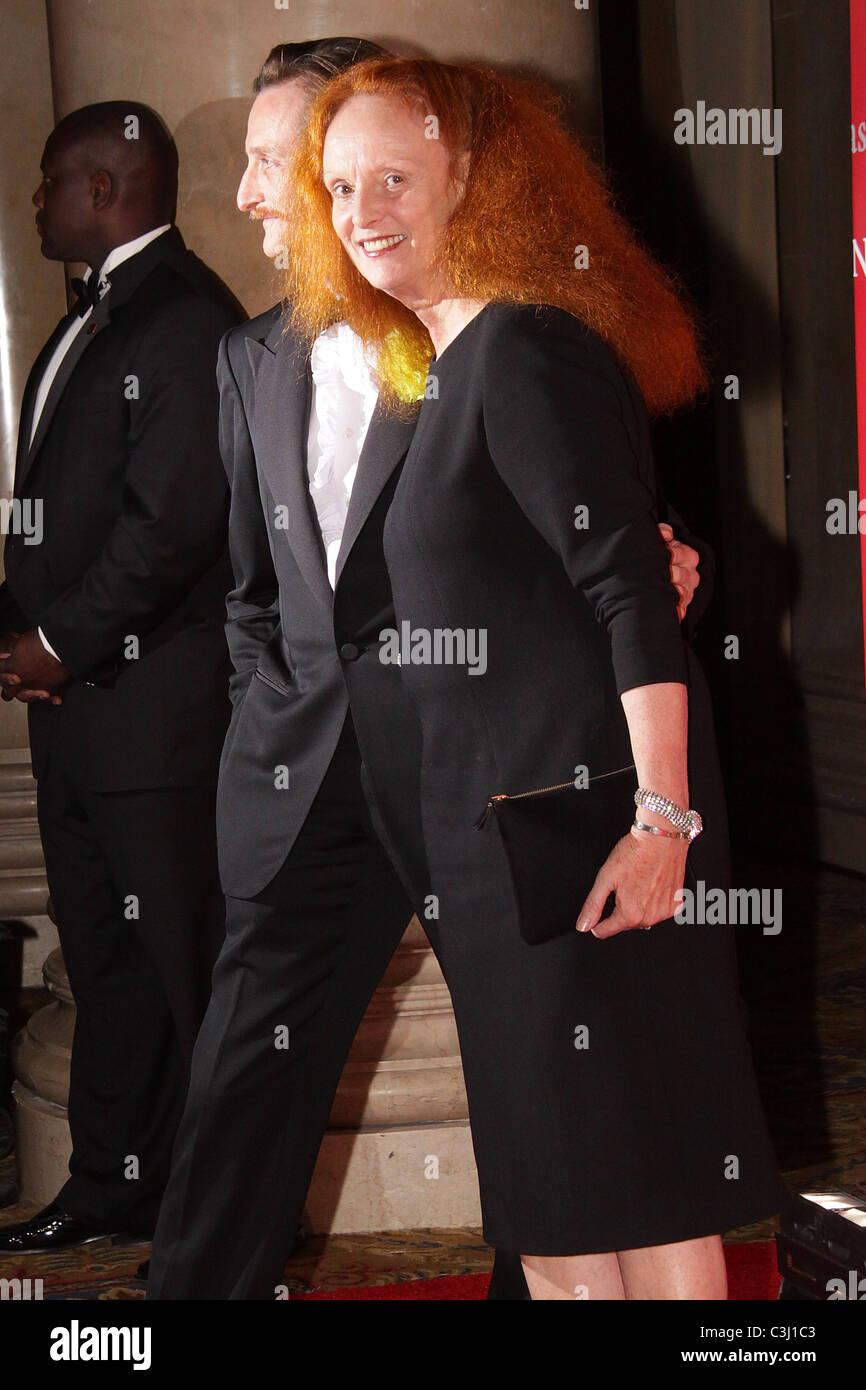 Hamish Bowles; Grace Coddington  Fashion Group International's 26th annual Night Of Stars at Cipriani Wall Street - Stock Image