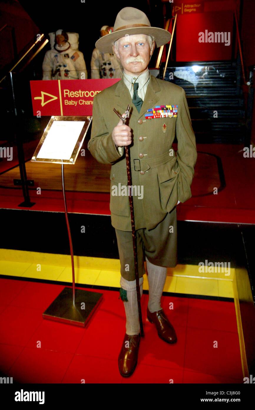 Robert Baden Powell 1st Baron Baden Powell Wax Figure Of