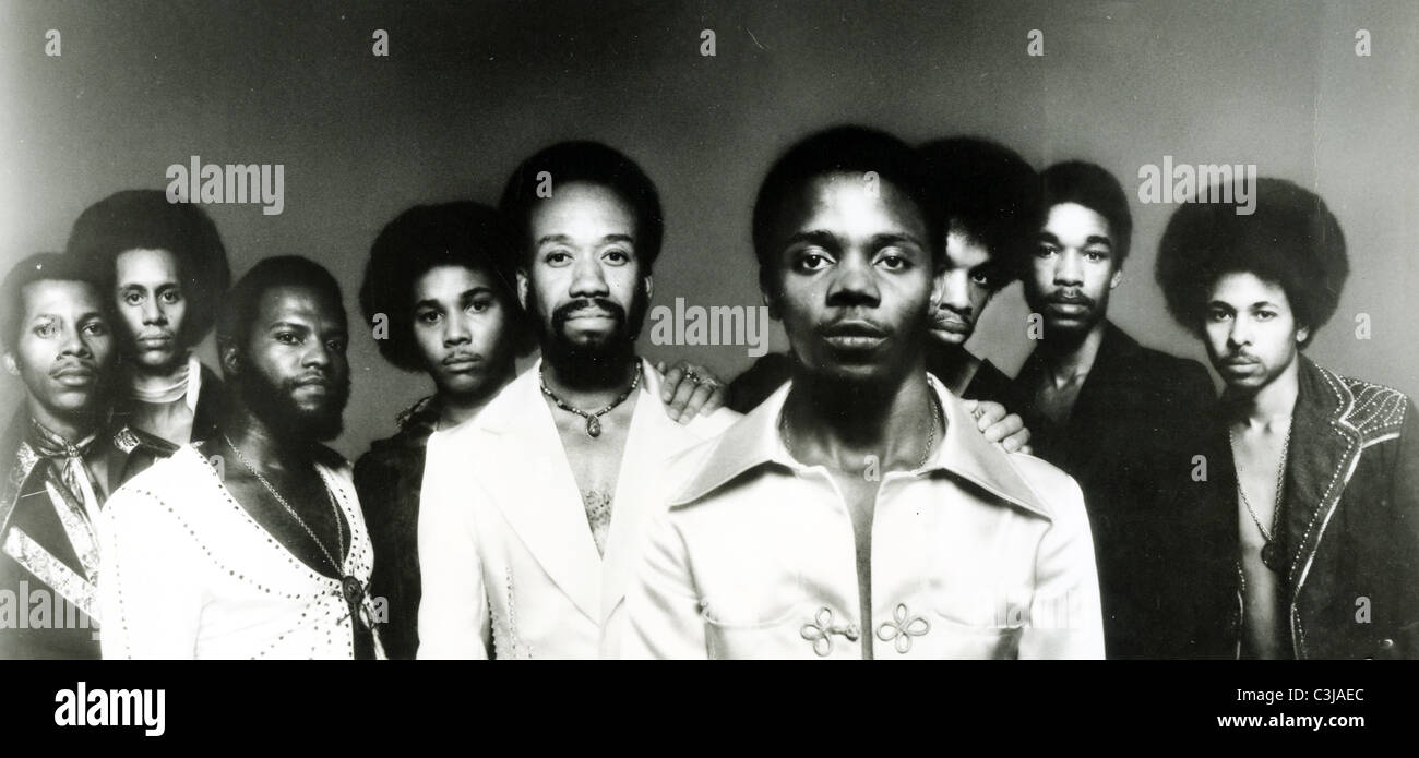 EARTH WIND & FIRE  Promotional photo of US group about 1978 - Stock Image