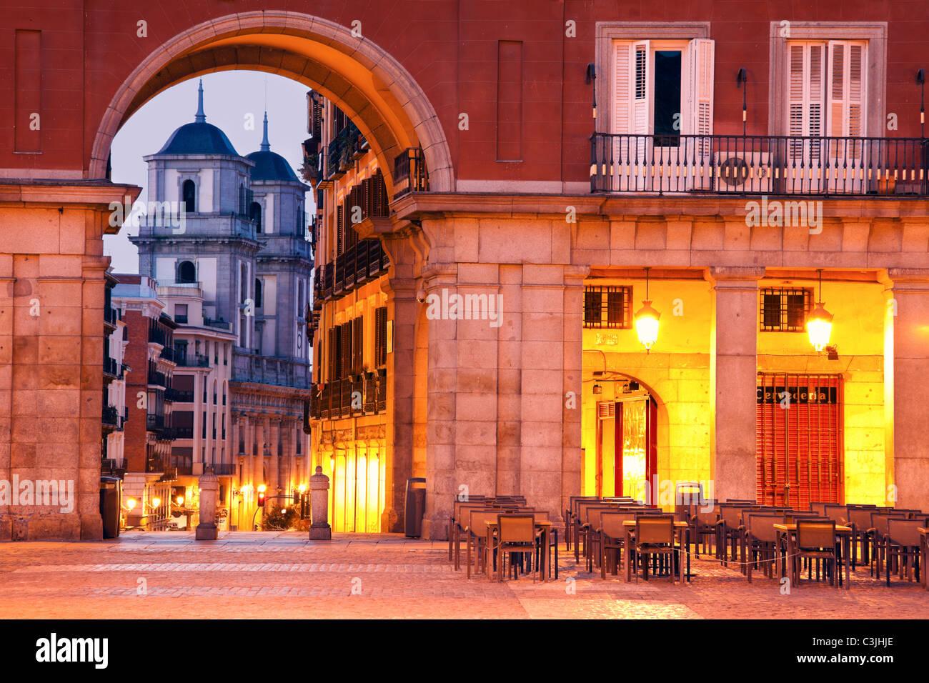 Spain, Madrid, Colegiata de San Isidro - Stock Image