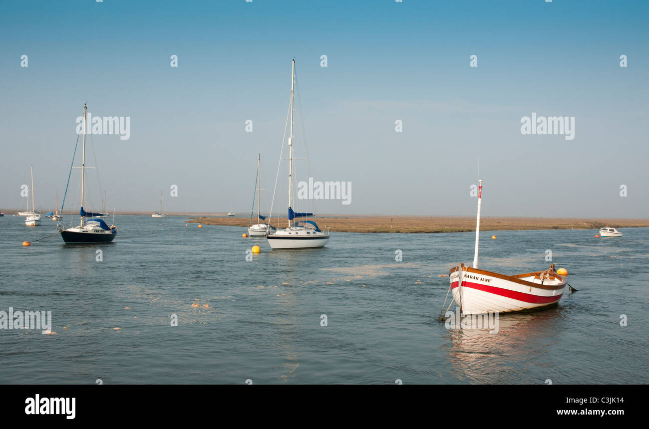 Wells next the Sea, Norfolk. U.K. - Stock Image