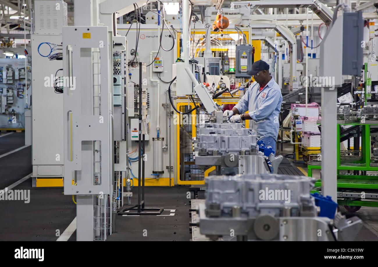 General Motors' Toledo Transmission Plant - Stock Image