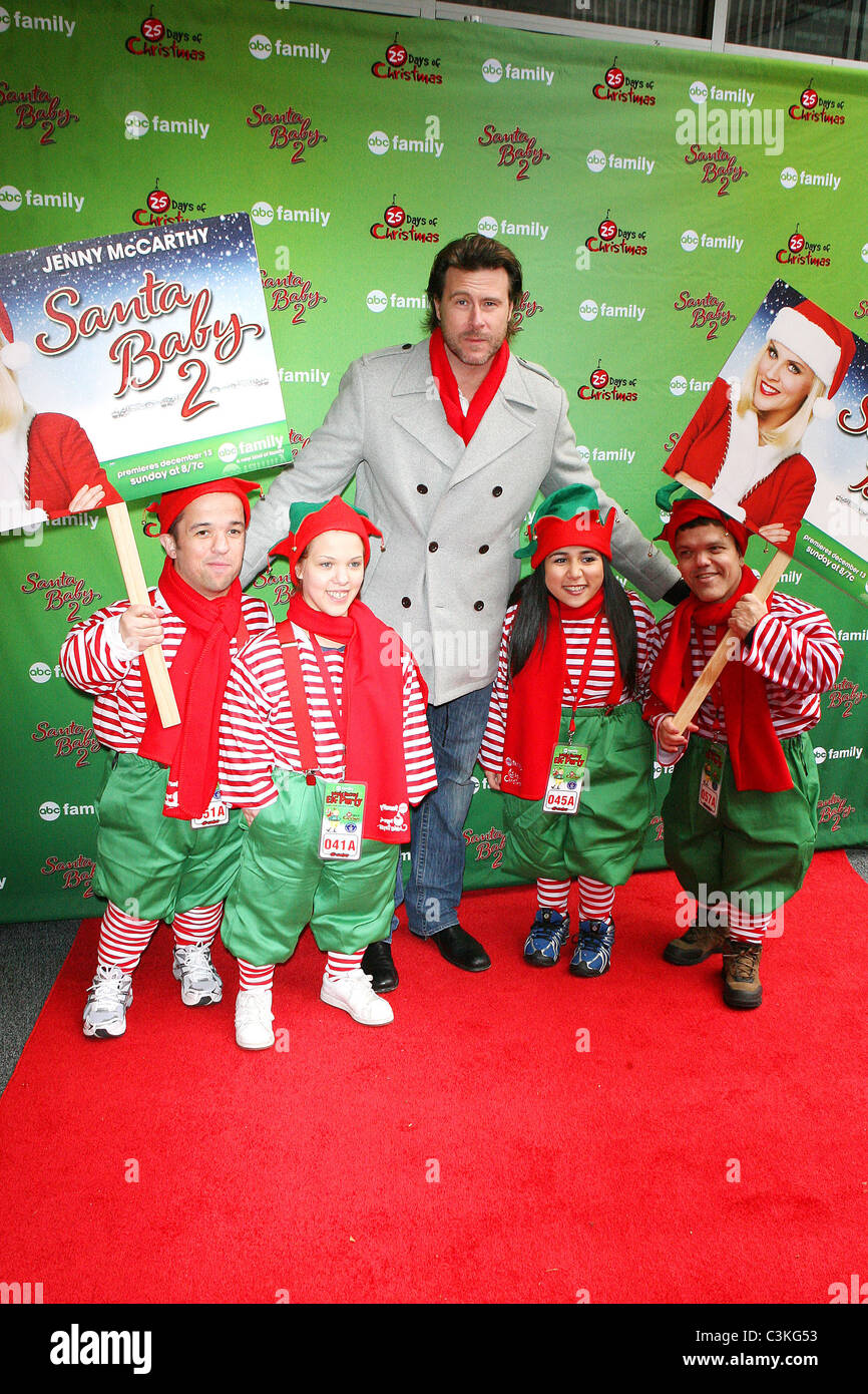 dean mcdermott abc familys elf party in support of its original movie santa baby 2 - Abc Family Original Christmas Movies