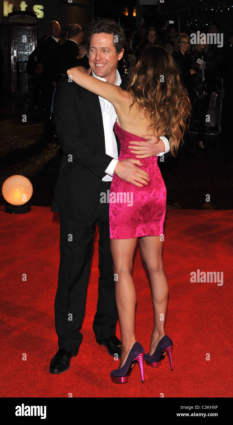 Sarah Jessica Parker Hugh Grant Did You Hear About The Morgans Uk Stock Photo Alamy