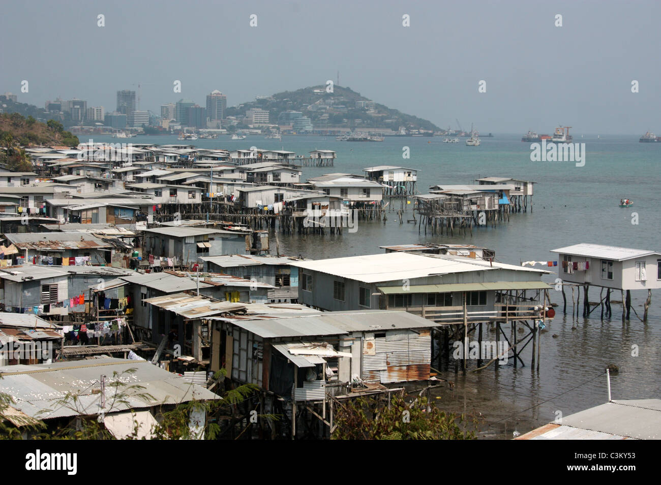 Port Moresby - Stock Image
