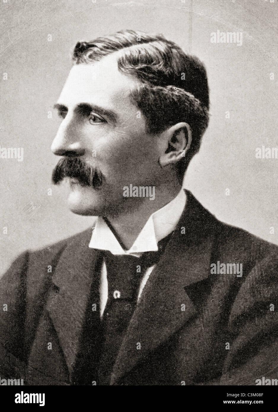 George Denison Faber, 1st Baron Wittenham, 1852 – 1931. British Conservative Party politician. - Stock Image