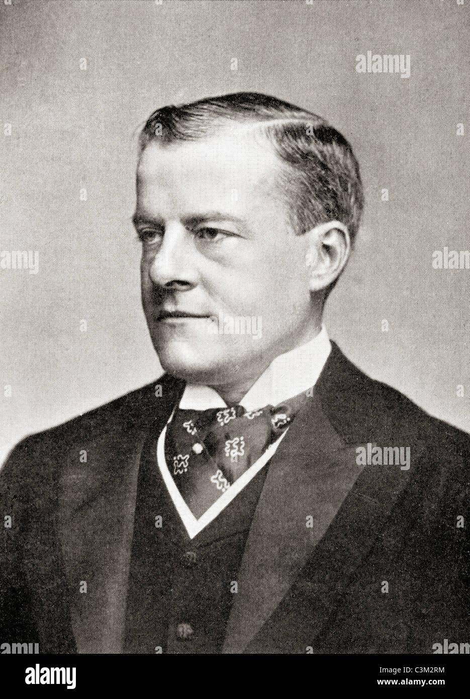 Sir John Grant Lawson, 1st Baronet, 1856 – 1919. British Unionist politician. - Stock Image