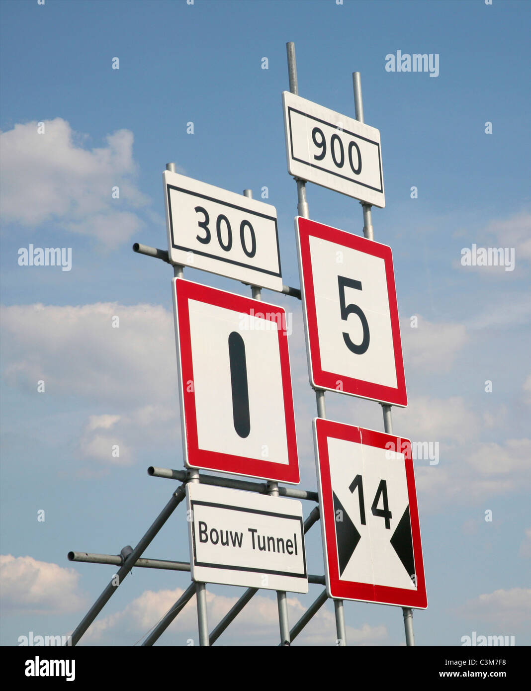 maritime signboards - Stock Image