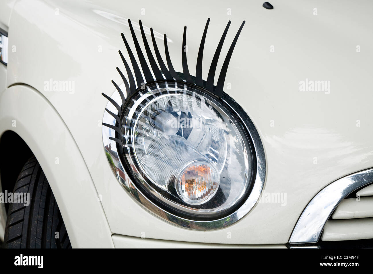 Car Eyelashes Stock Photos Car Eyelashes Stock Images Alamy