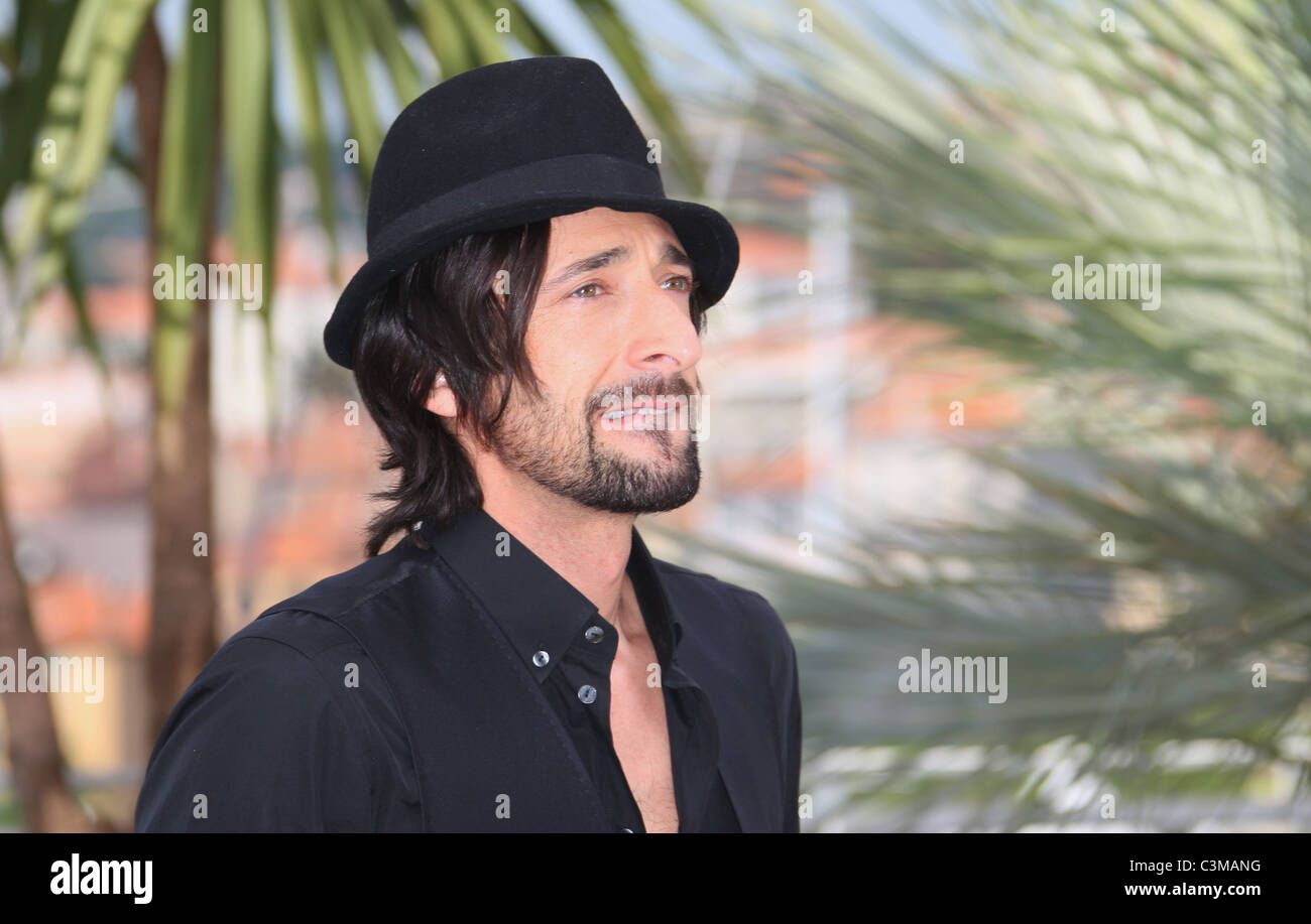 ADRIEN BRODY MIDNIGHT IN PARIS PHOTOCALL CANNES FILM FESTIVAL 2011 PALAIS DES FESTIVAL CANNES FRANCE 11 May 2011 - Stock Image