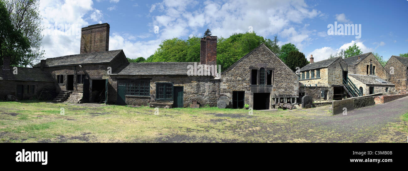 Abbeydale Industrial Hamlet in Sheffield South Yorkshire - Stock Image