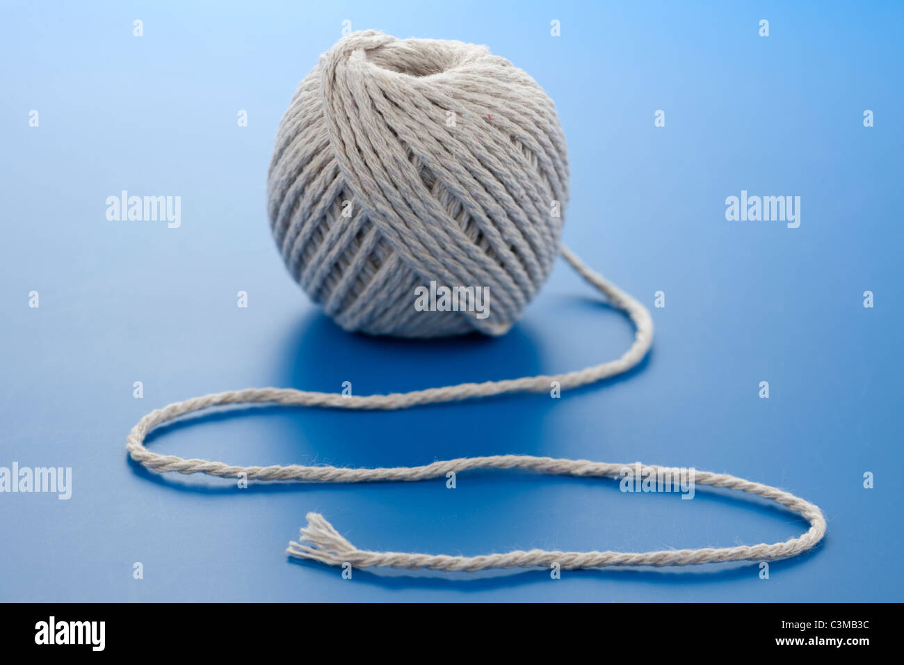 Ball of string - Stock Image
