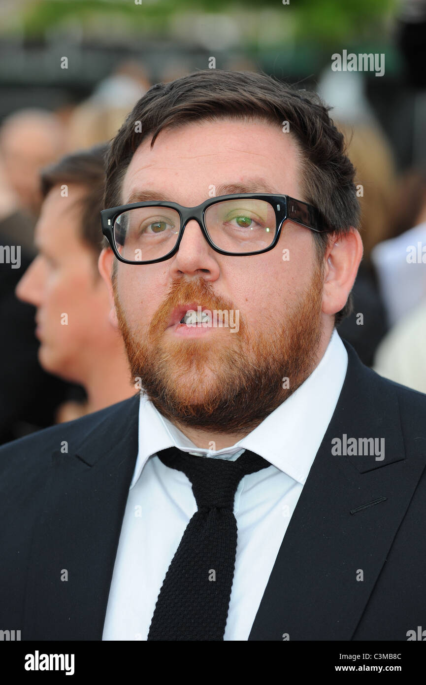 64e2f41674 NICK FROST NATIONAL MOVIE AWARDS 2011 WEMBLEY ARENA LONDON ENGLAND 11 May  2011 - Stock Image
