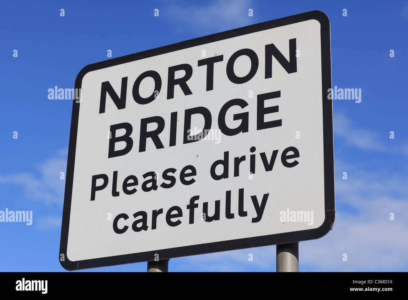 Norton Bridge in Staffordshire, England, location for a new high speed rail flyover for the West Coast line - Stock Image