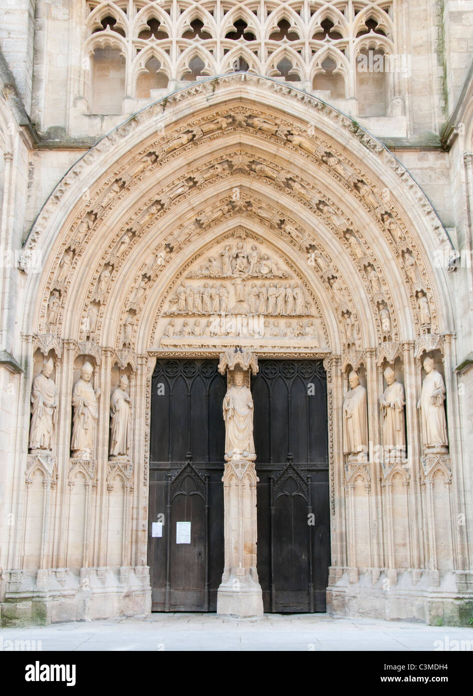 Cathedral Saint Andre in the City of Bordeaux, France Europe EU - Stock Image