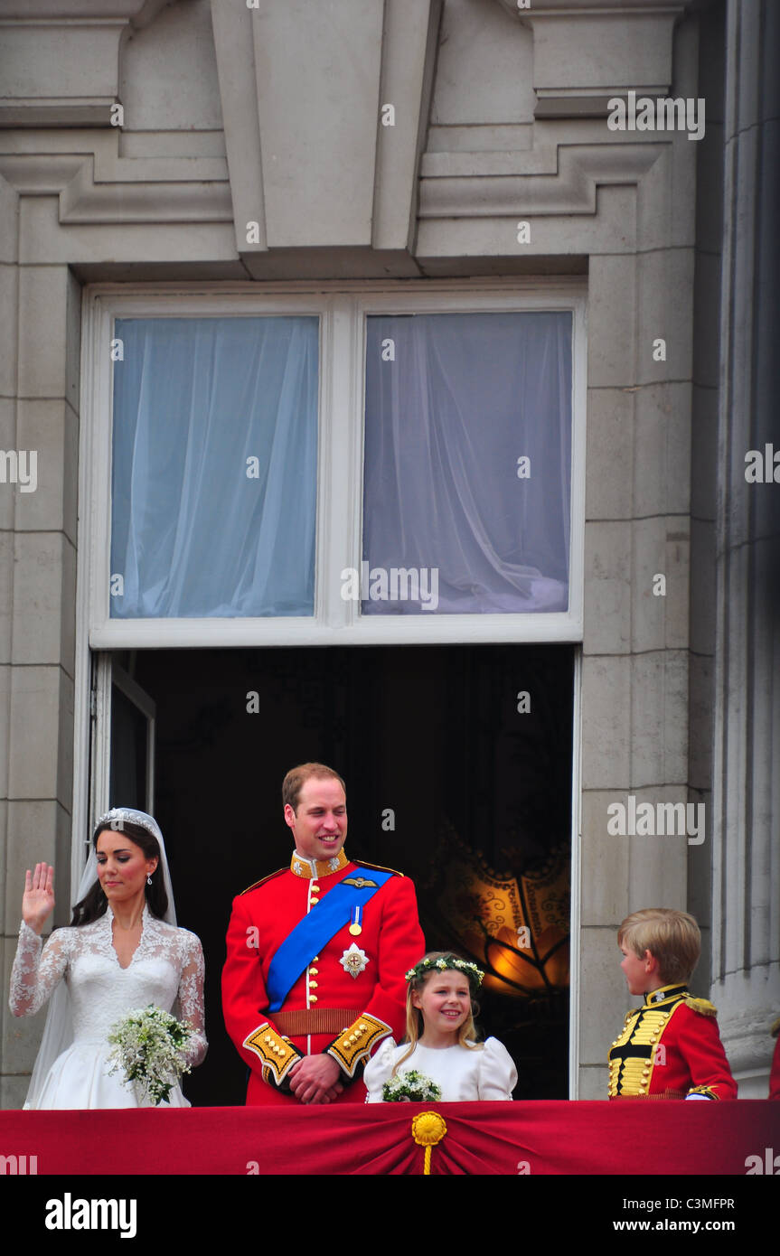 Kate Middleton Wedding Balcony Stock Photos Kate Middleton