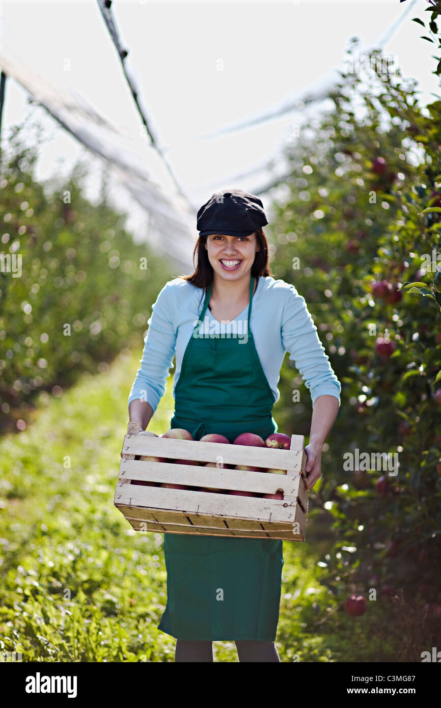 crate smile stock photos crate smile stock images alamy