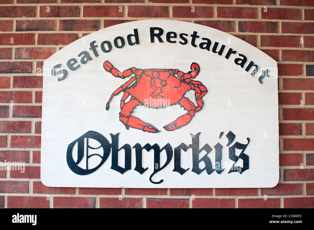 The Sign For Famous Obrycki S Seafood Restaurant In