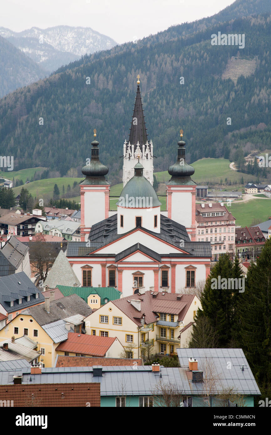 Mariazell - pilgrim places in Austria - Stock Image
