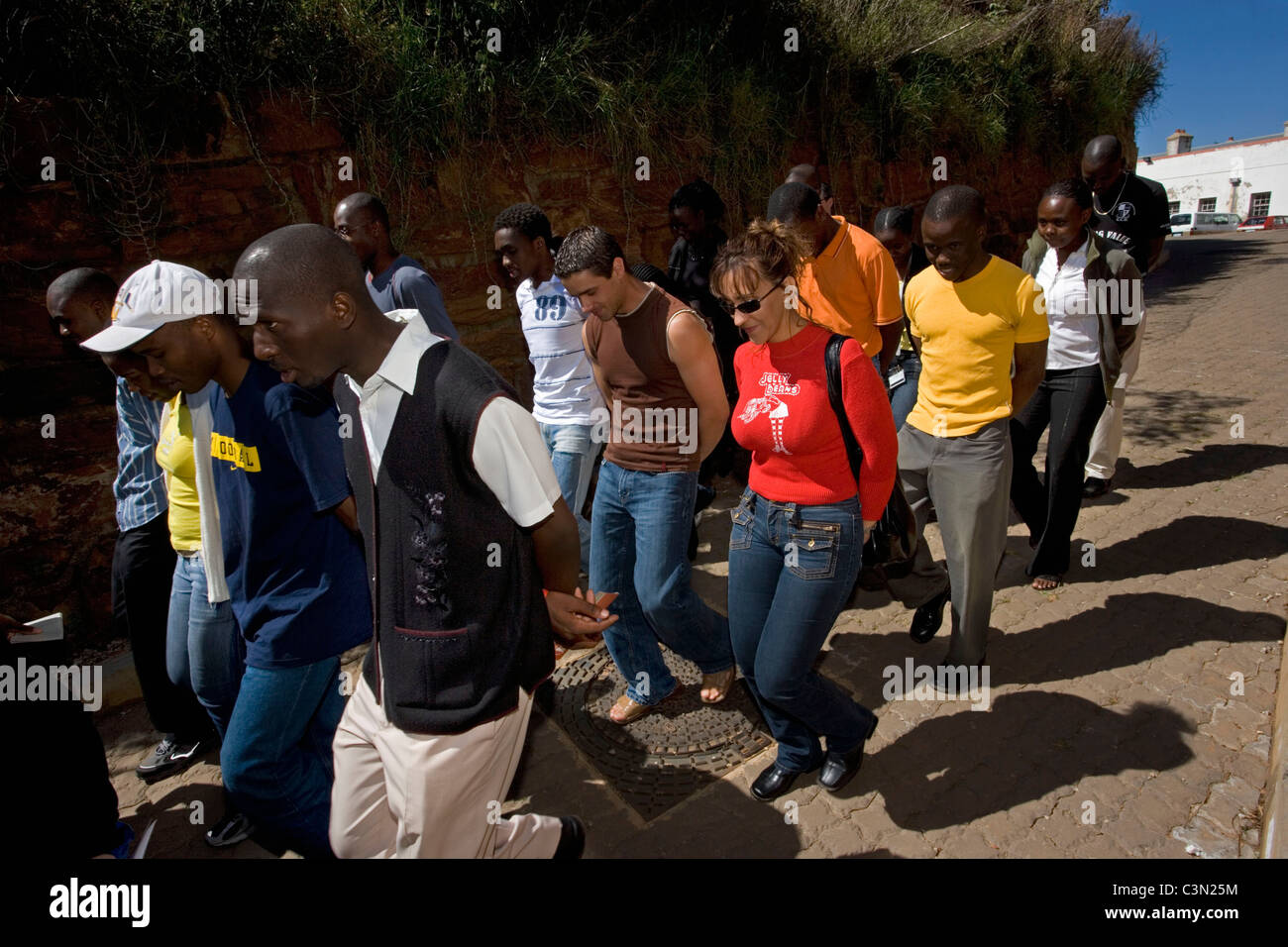 South Africa. Johannesburg. Constitution Hill. - Stock Image