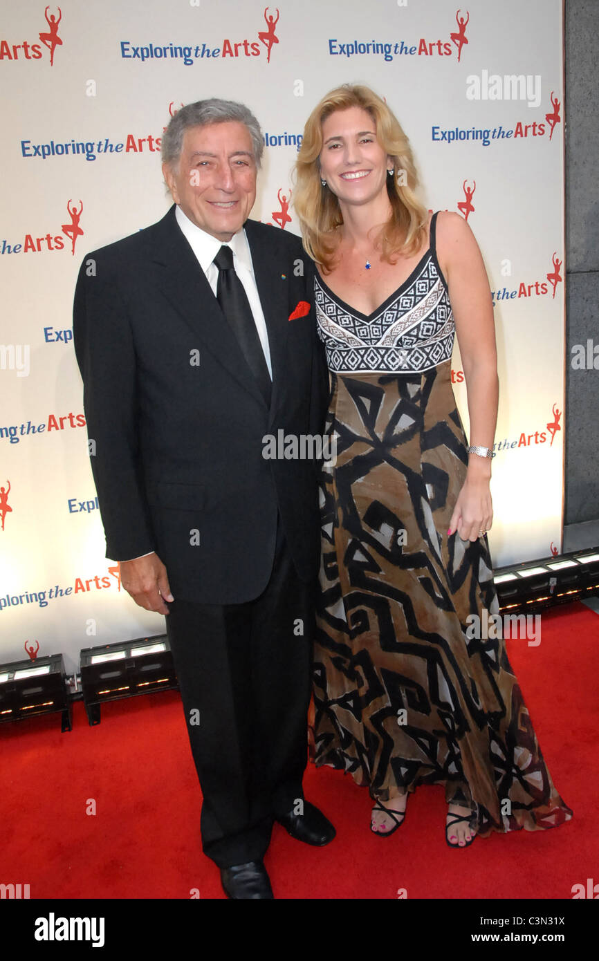 Tony Bennett and Susan Crow Third annual Exploring The Arts benefit gala at Cipriani Wall Street - arrivals New - Stock Image