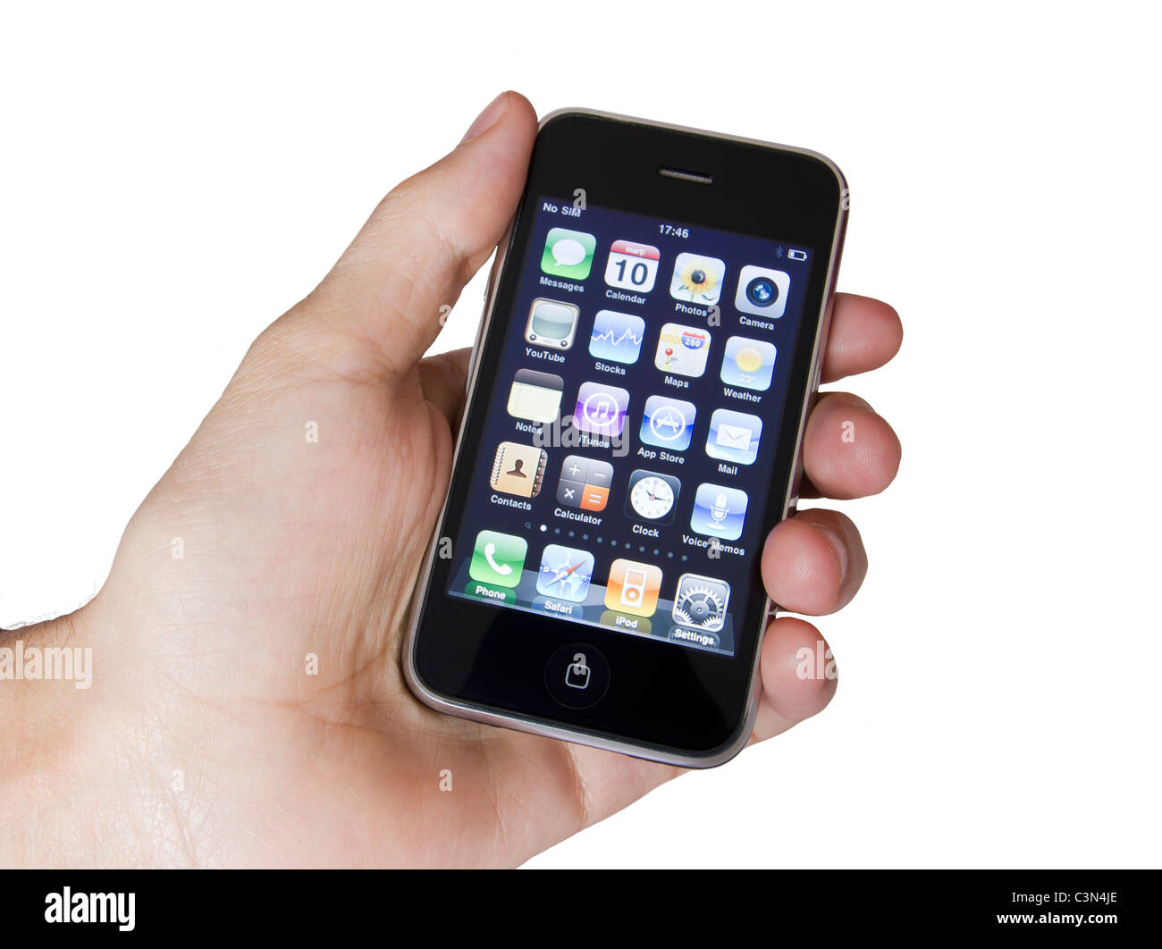 Apple IPhone 3s, the third generation smart phone ...