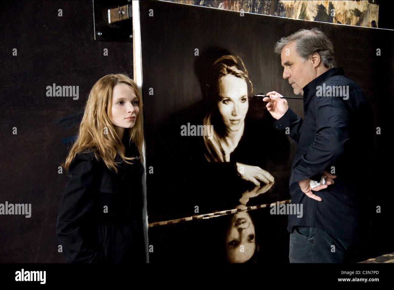 KAROLINE HERFURTH & JOSEF BIERBICHLER A YEAR AGO IN WINTER (2008) Stock Photo