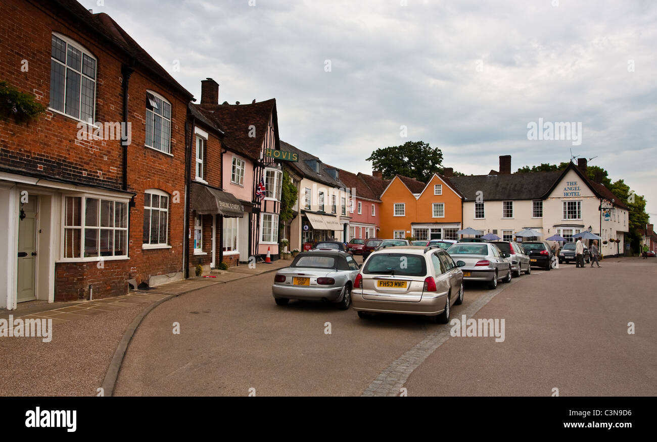 Lavenham, Suffolk - Stock Image