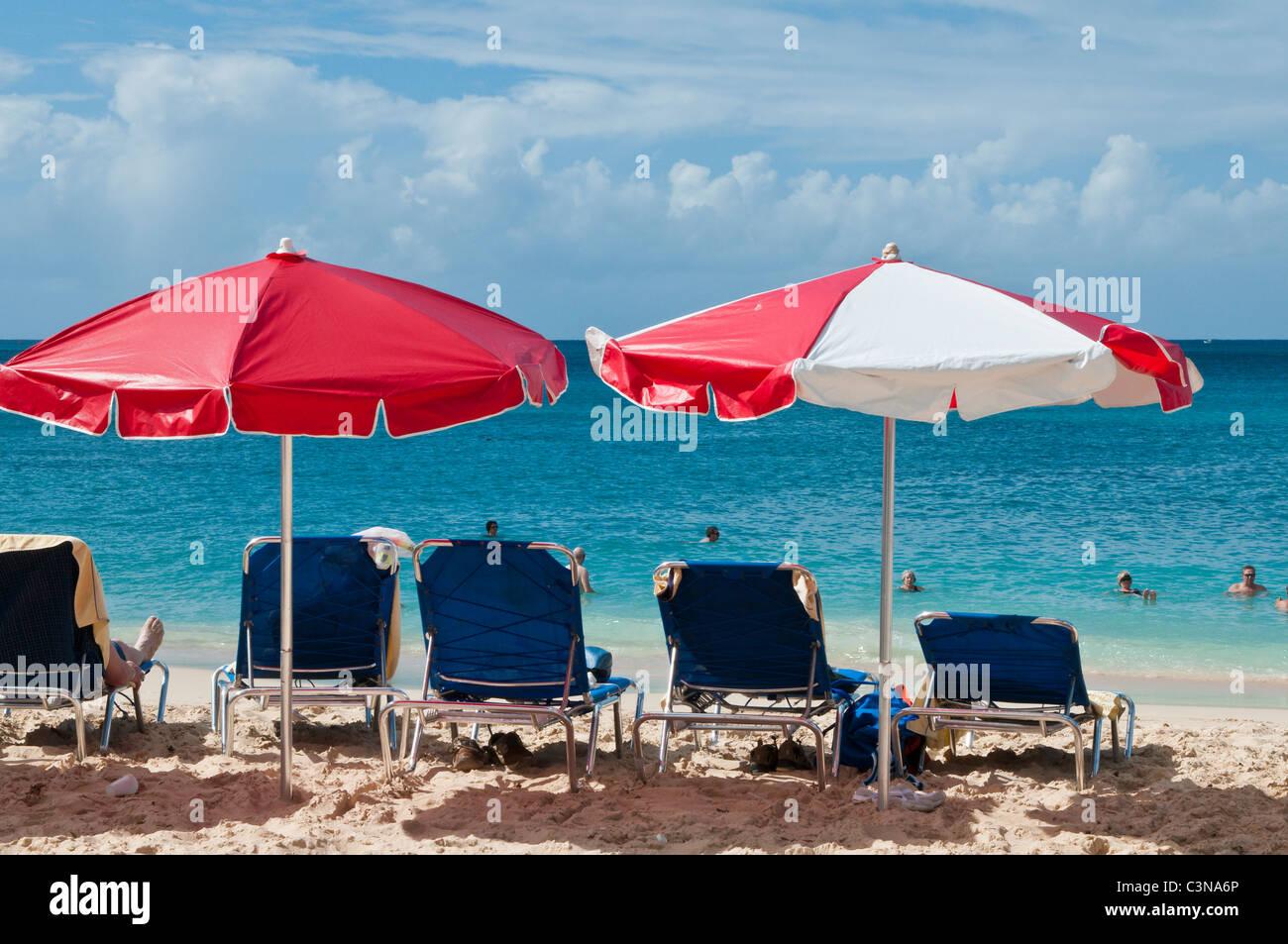 beach umbrella and chair. Plain Beach Beach Umbrellas Chairs People Sunning Sun Tanning Brighton Or  Cockspur Beach Barbados Caribbean Throughout Umbrella And Chair