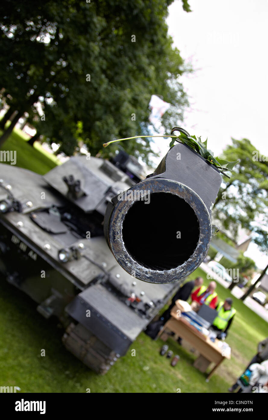 tank, challenger 2, BAE Systems Land Systems, - Stock Image