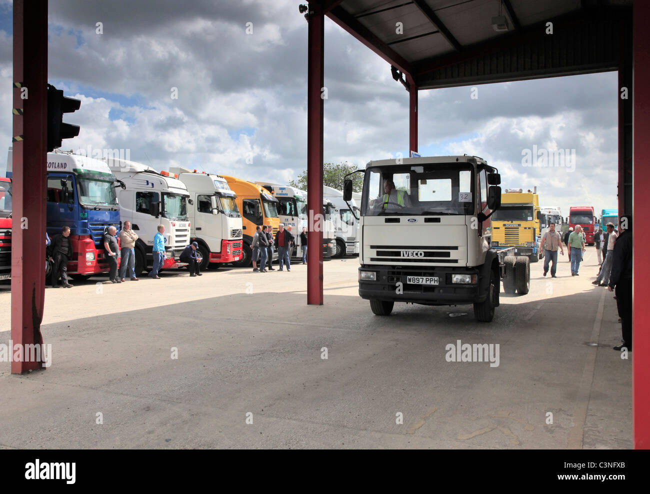 Truck Auction - Stock Image