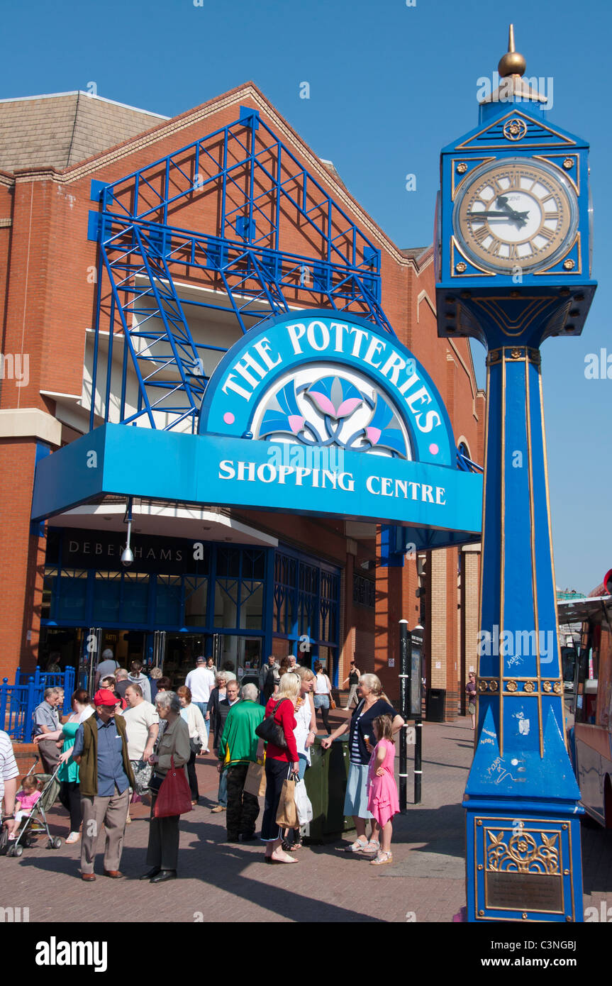 The Potteries Shopping Centre, Stoke-on-Trent, Staffordshire, UK - Stock Image