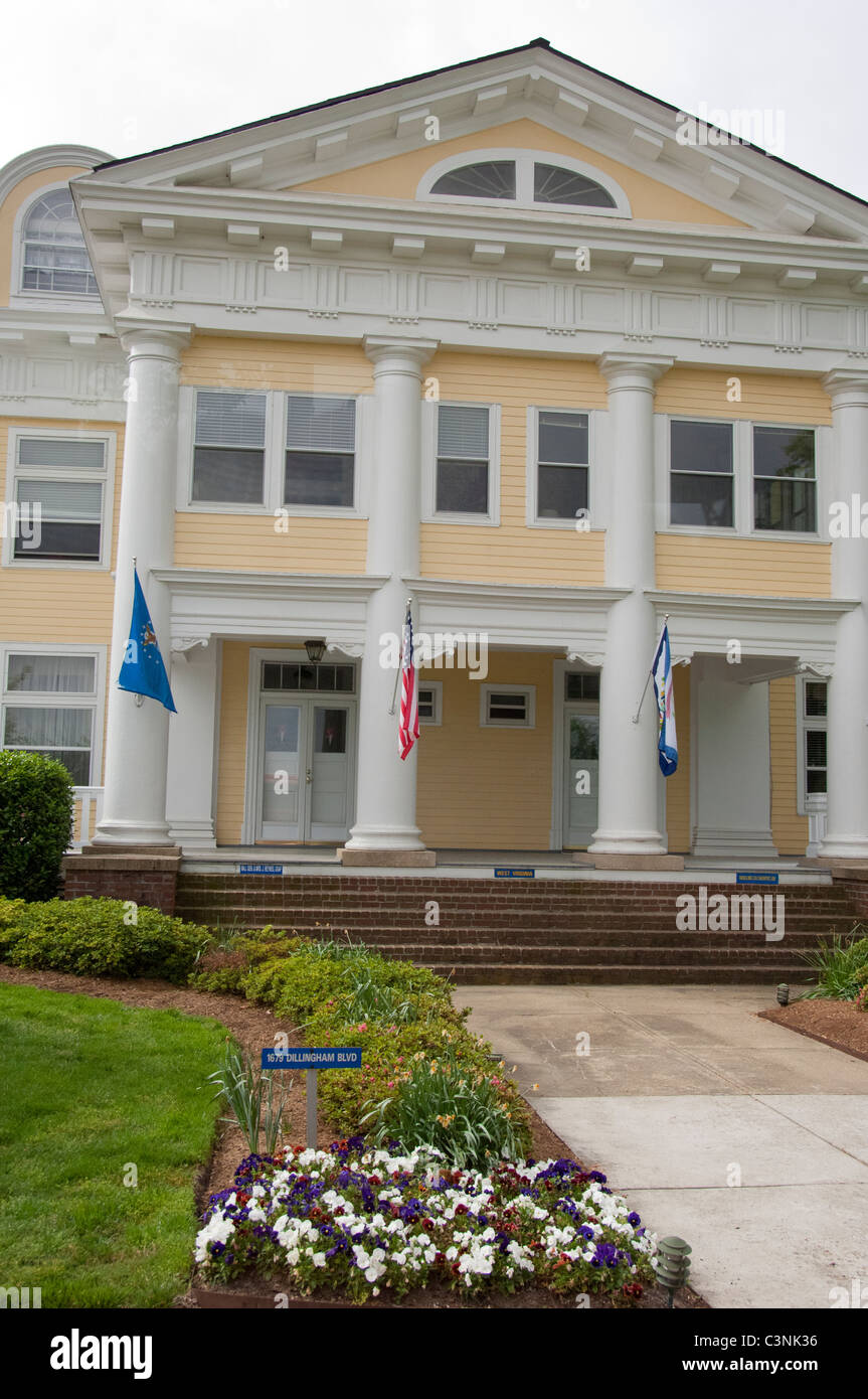 Historic Homes In Norfolk Va: Virginia, Norfolk. Norfolk Naval Station. Historic Officer
