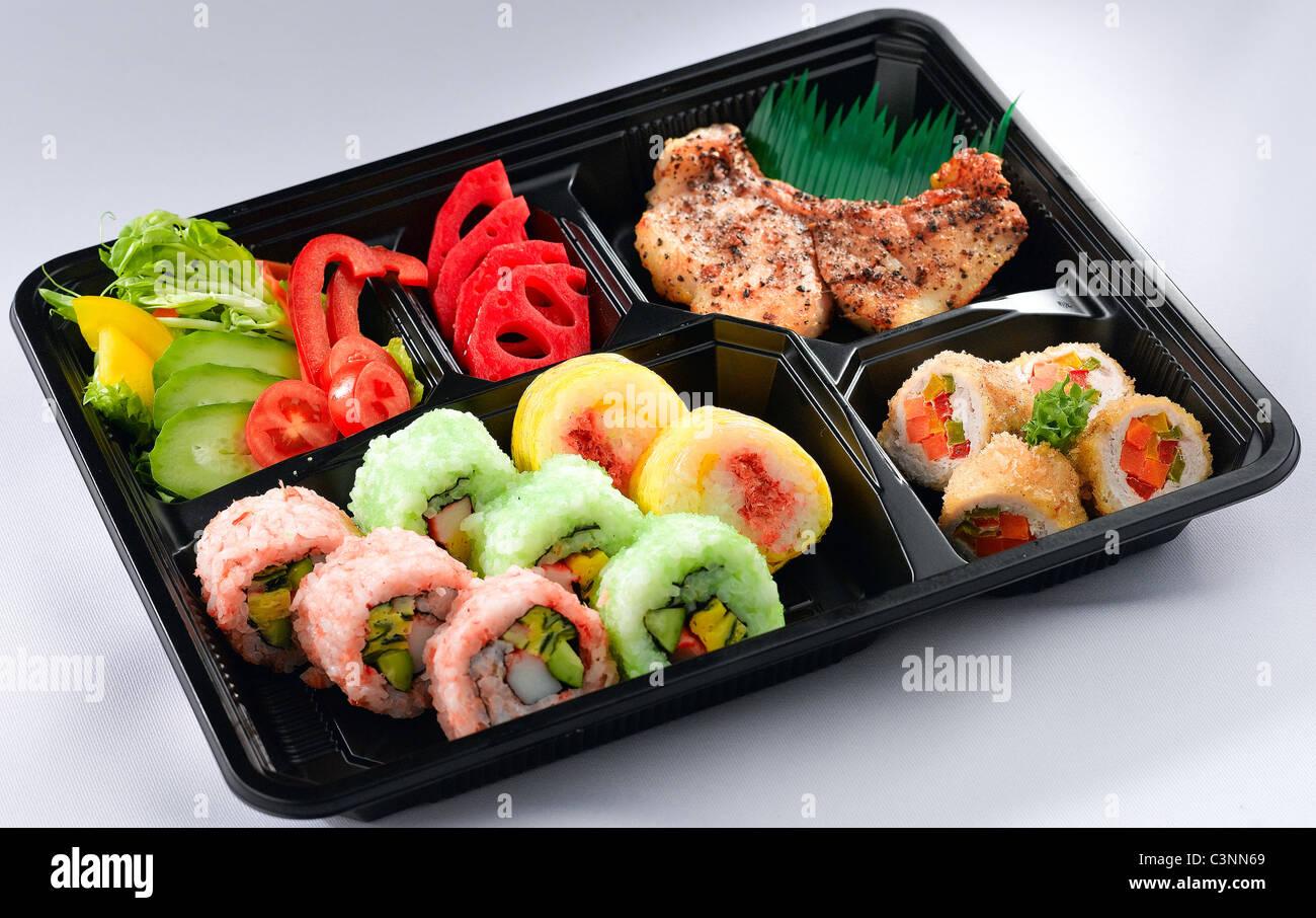 Japanese Sushi Bento Lunch Box
