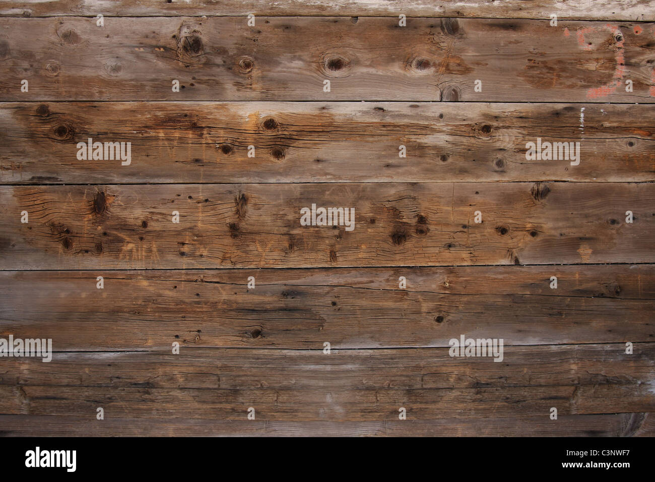 Old planks - Stock Image