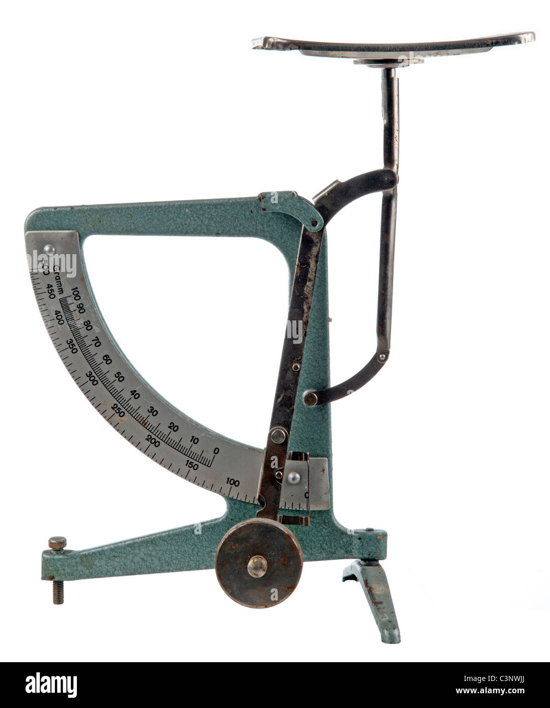 Old Weight Scale - Stock Image