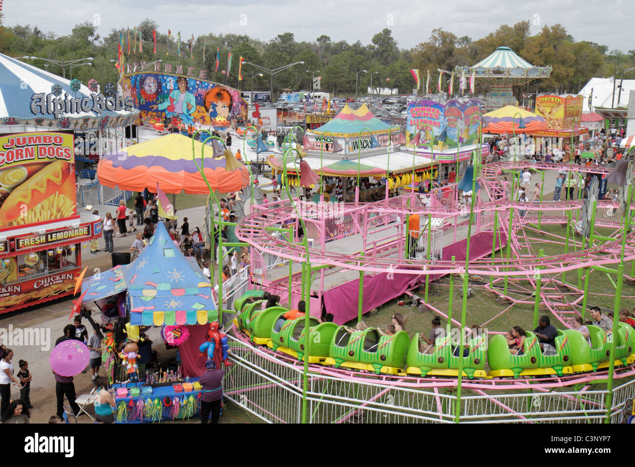 Carnival Rides Stock Photos & Carnival Rides Stock Images - Alamy