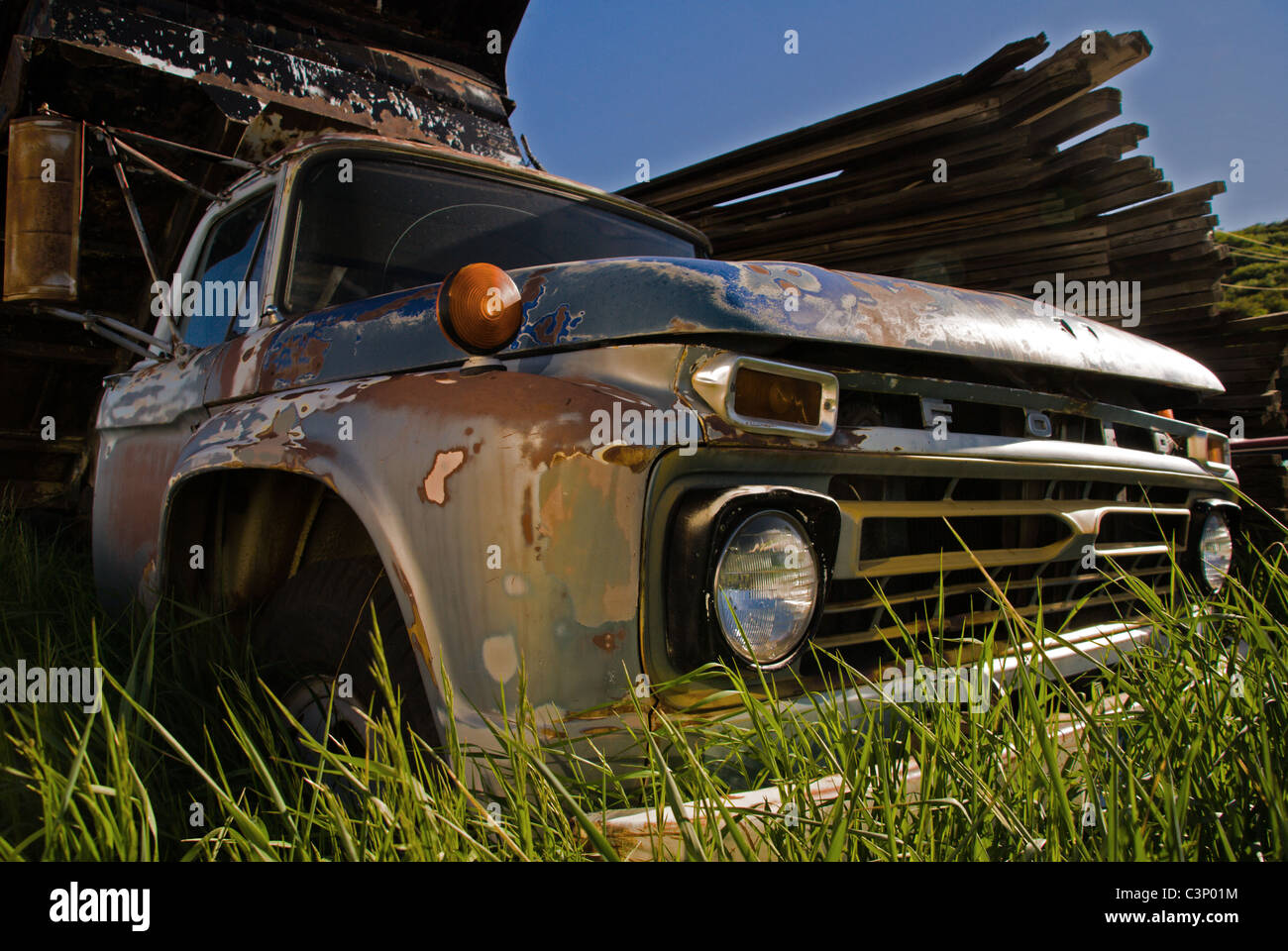 Seen better days! - Stock Image