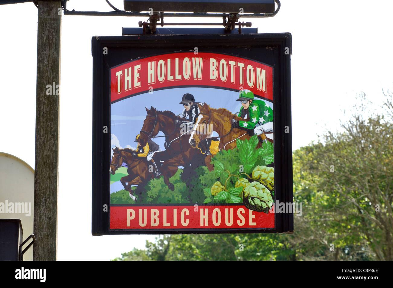 Bottom pub guiting
