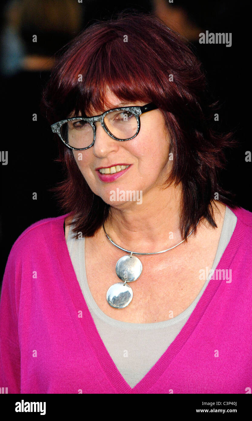 Janet Street Porter Burberry Closing Party for Fashion week 25th Anniversary London Fashion week Autumn/Winter 2010 - Stock Image