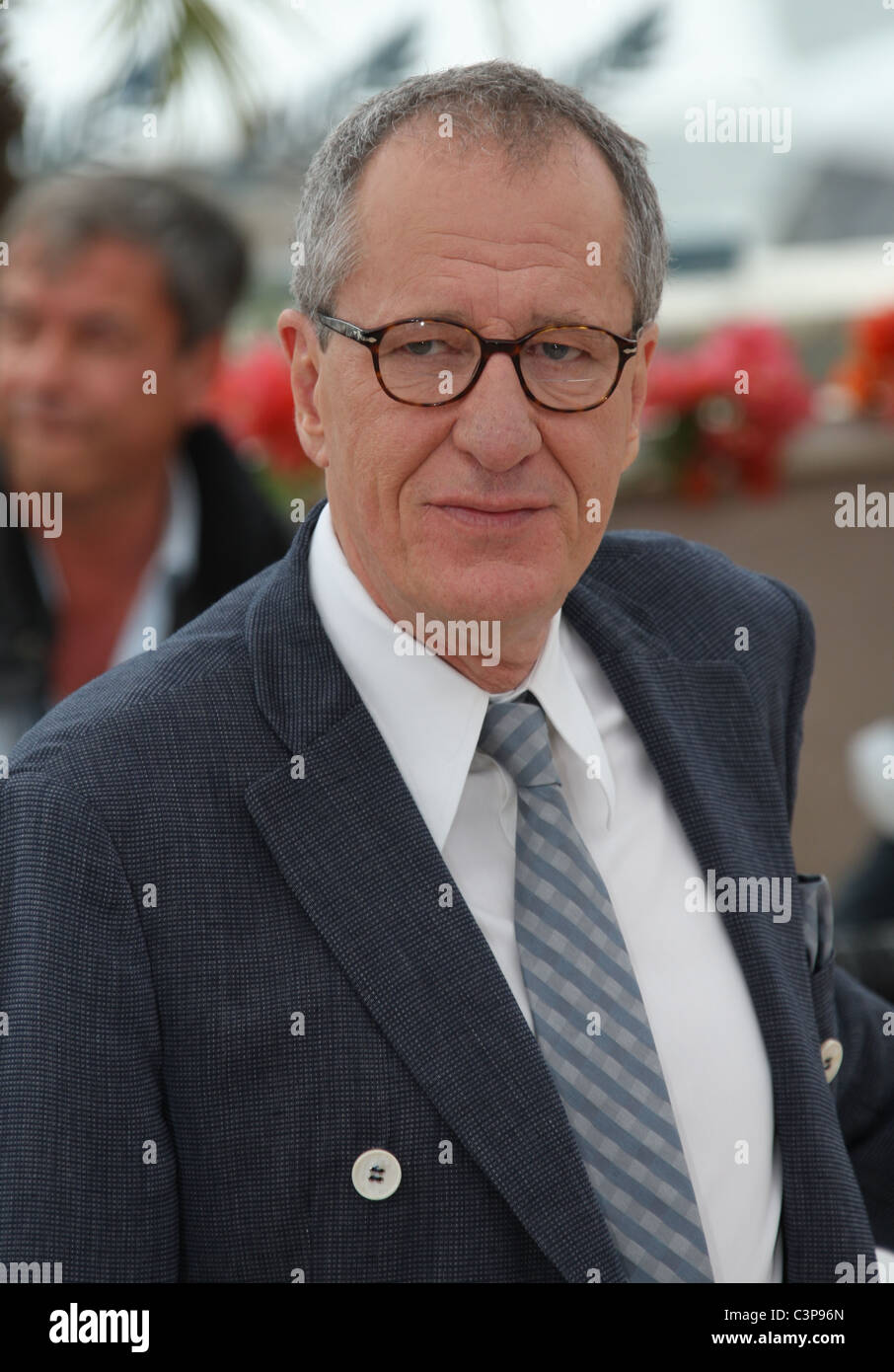 GEOFFREY RUSH PIRATES OF THE CARIBBEAN: ON STRANGER TIDES PHOTOCALL CANNES FILM FESTIVAL 2011 PALAIS DES FESTIVAL - Stock Image