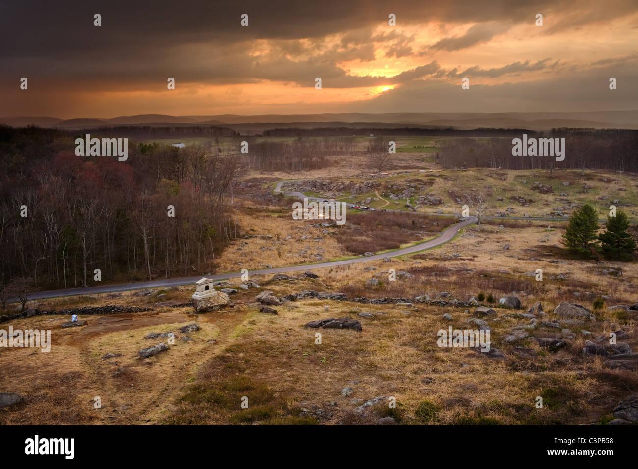 Gettysburg Battlefield Stock Photos Amp Gettysburg