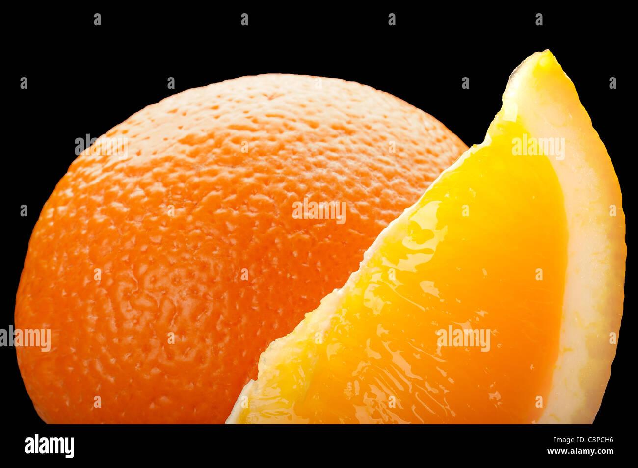 Fresh Oranges, Food - Stock Image